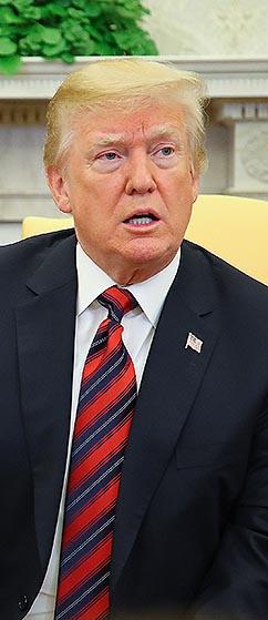 """트럼프 """"김정은, 비핵화에 진지"""""""