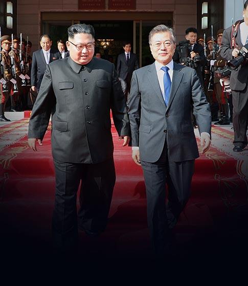 """'종전선언' 가능성 열어둔  청와대 """"회담 성과에 달려"""""""