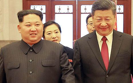 김정은, 중국 첫 공식방문 북-중 합의문 나오나?