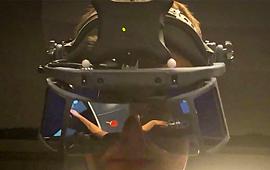 가상의 공으로 AI와 진짜 탁구 '화제'