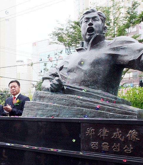 <조선> '정율성' 보도 독립운동을 폄훼하다