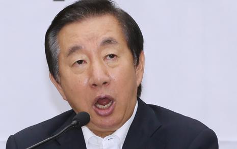 """김경수 영장 기각에...  김성태 """"망나니"""" 비난"""