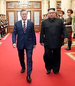 """""""북한의 심장부를  내보였다"""""""