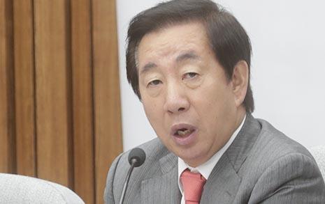 """김성태 """"추악한 물타기...  민주당과 상의하고 와라"""""""