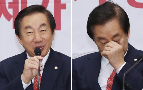 """웃다가 운 김성태 """"여당, 나 그리워할 것"""""""