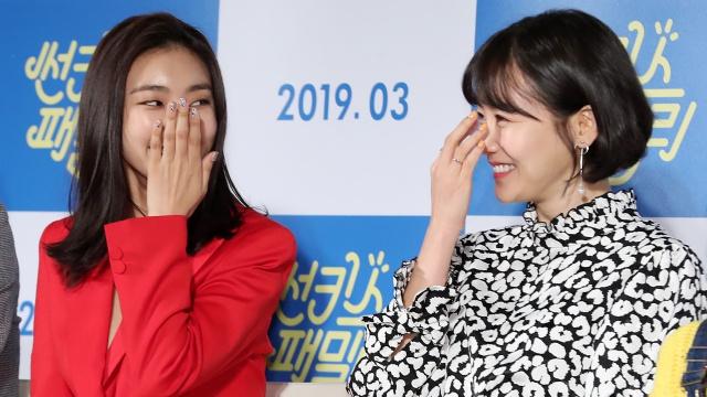 '썬키스 패밀리' 윤보라-황우슬혜, 소녀들처럼 까르르