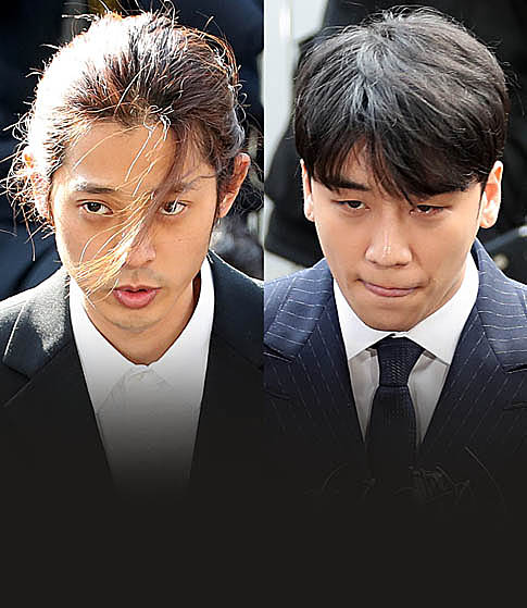 승리-정준영 보고도  계속 그럴 겁니까?