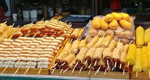 해운대 전통시장,  이게 바로 부산의 맛 아닌교?