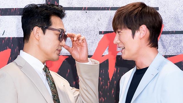 '루갈' 박성웅-최진혁, 남자들의 눈싸움