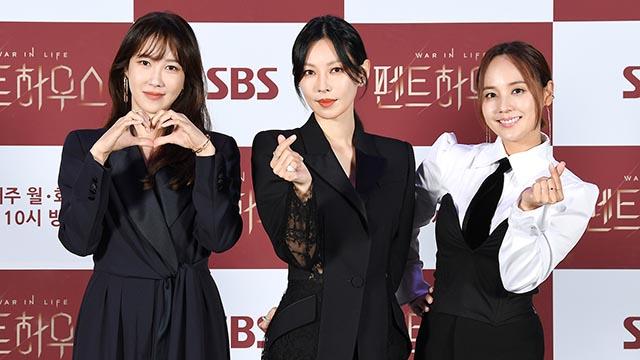 '펜트하우스' 이지아-김소연-유진, 복수-허영-욕망의 3강들