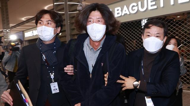 '대장동 키맨' 남욱 변호사 인천공항서 체포