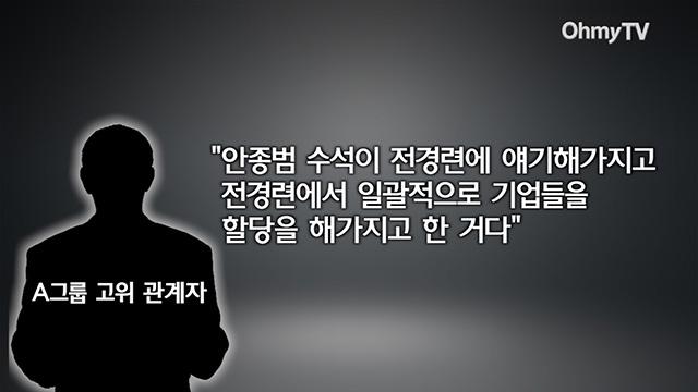 """노웅래 녹취록 공개 """"안종범 지시로 미르·K스포츠재단 모금"""""""