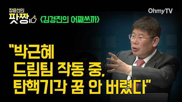 """[제8화_김경진의 어째쓰까] """"박근혜 드림팀 작동 중, 탄핵기각 꿈 안 버렸다"""""""