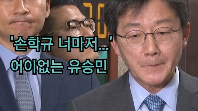 [영상] 어이없는 유승민 '손학규 너마저...'