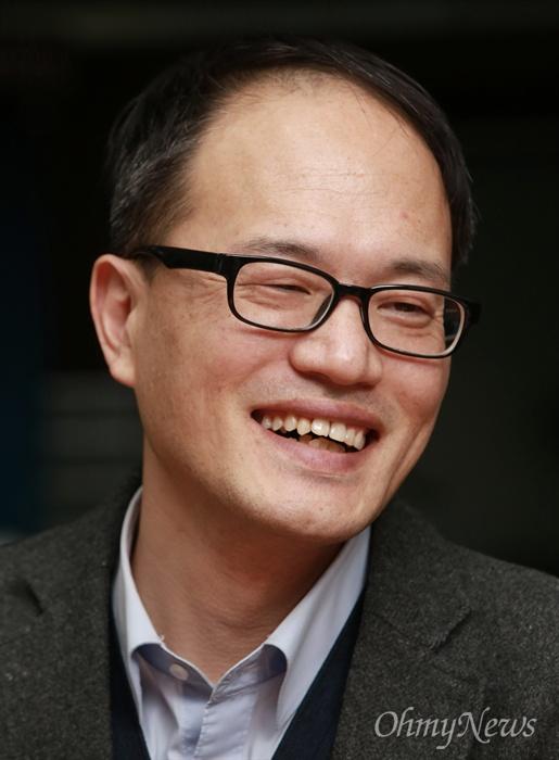 20대 총선을 앞두고 더불어민주당에 입당한 박주민 변호사.