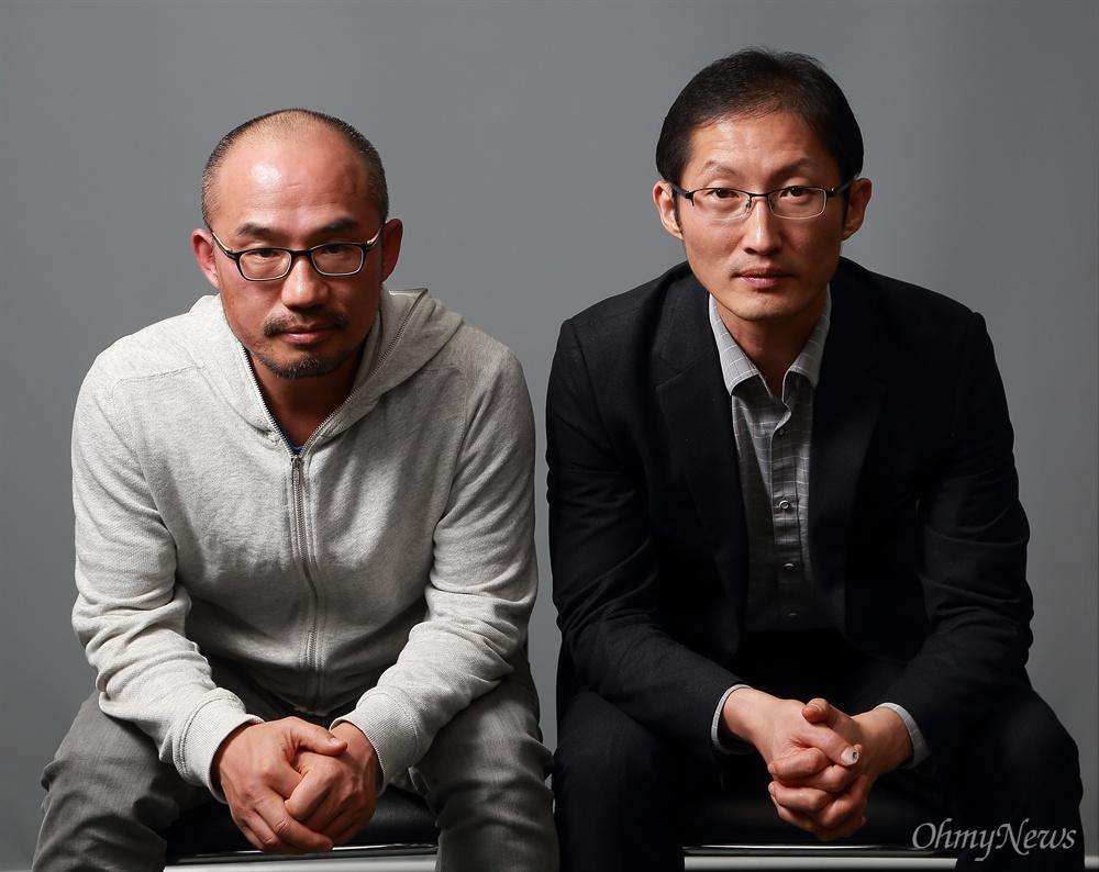 영화 <재심>이 다룬 '약촌오거리 살인사건'의 박상규 기자와 박준영 변호사.