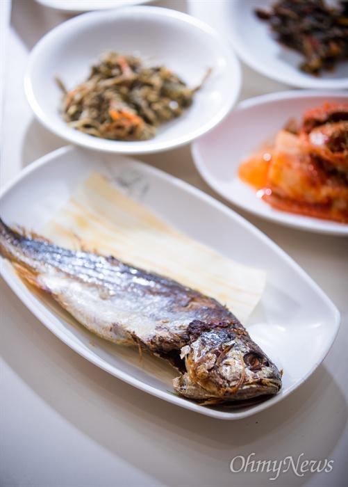 '맛 칼럼니스트' 황교익씨가 추천한 서울 종로구 한 식당의 보리굴비.