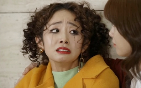 KBS <김과장> 속 '덕포흥업 경리과 사원' 오광숙(꽝숙이)은 배우 임화영이 연기했다.