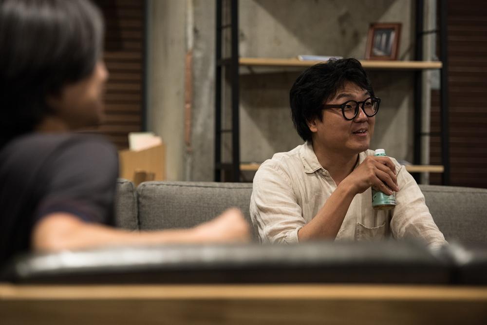 영화 <더 플랜>과 <저수지 게임>을 연출한 최진성 감독.