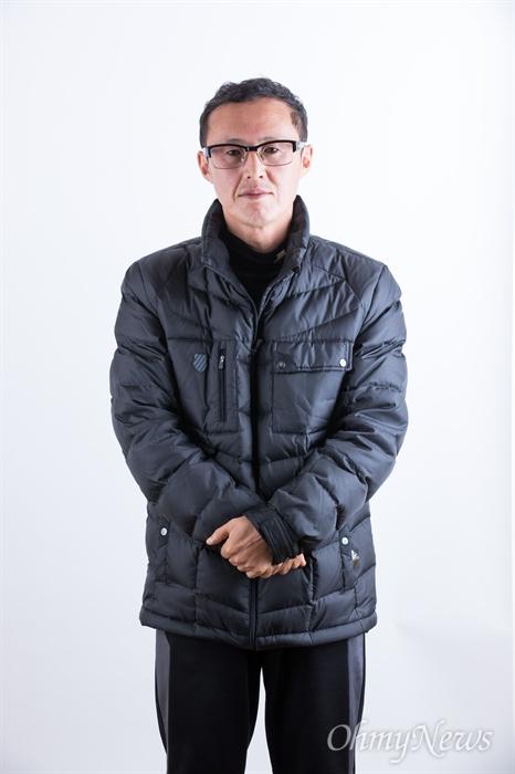 세월호 미수습자 단원고 남현철군의 아버지 남경원씨.