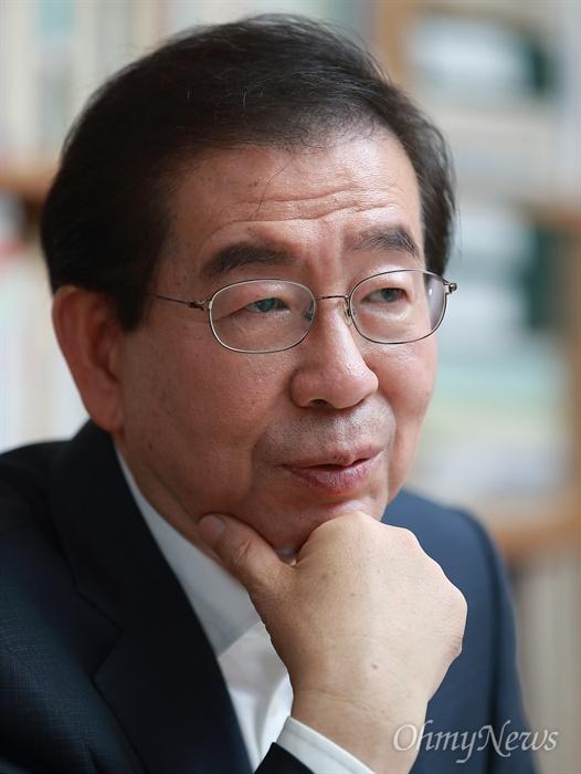 더불어민주당 박원순 서울시장 후보.