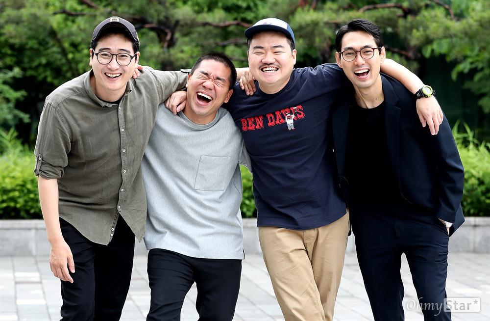 영화 <튼튼이의 모험>의 고봉수 감독, 배우 김충길 , 배우 신민재, 배우 백승환