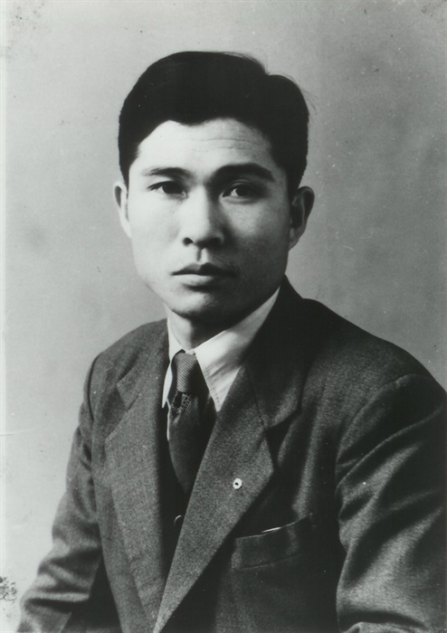 고 김대중 전 대통령. 사진은 청년 시절 모습.
