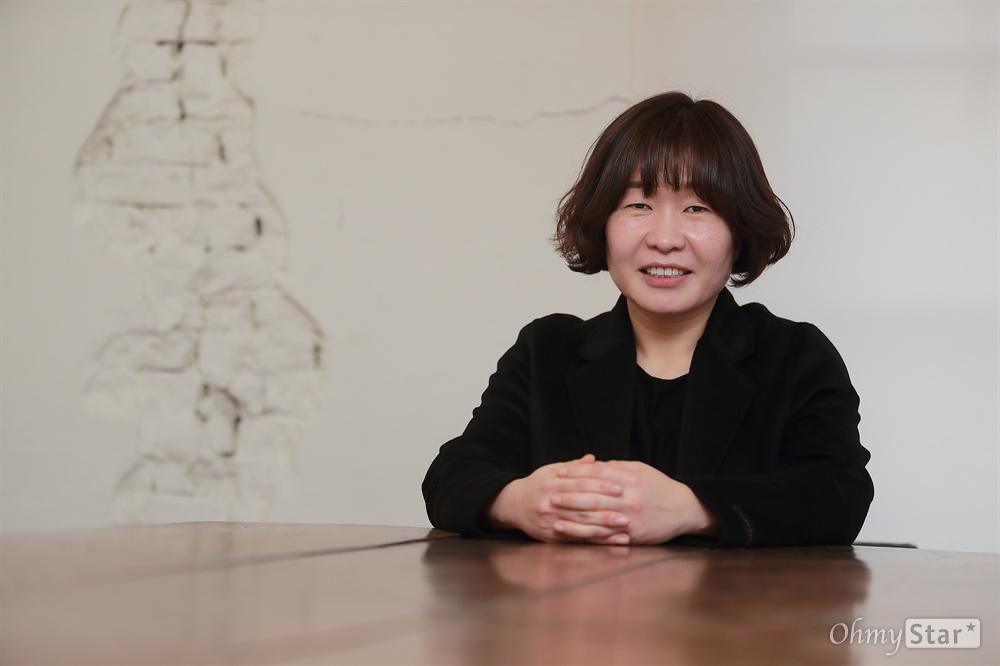 영화 '말모이' 엄유나 감독.