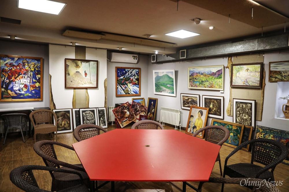 우즈베키스탄 타슈켄트에 있는 노런 갤러리. 이 갤러리는 고려인 화가들의 작품 500여 점을 소장하고 있다.