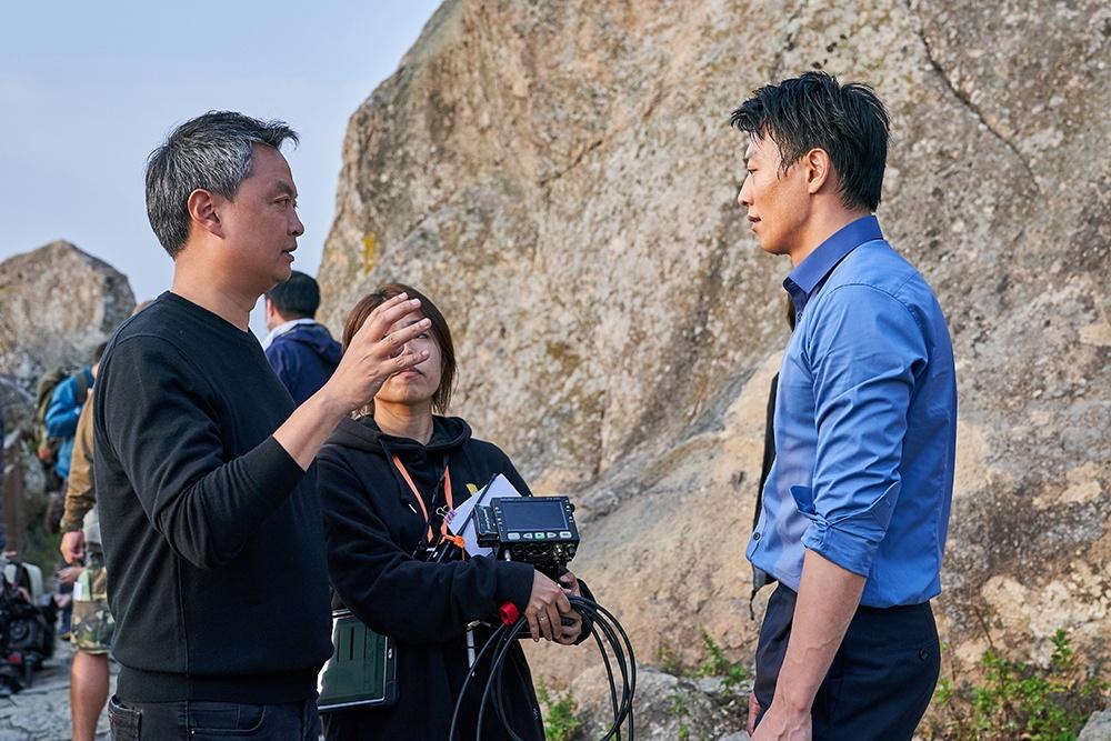 영화 <롱 리브 더 킹: 목포 영웅> 의 한 장면.