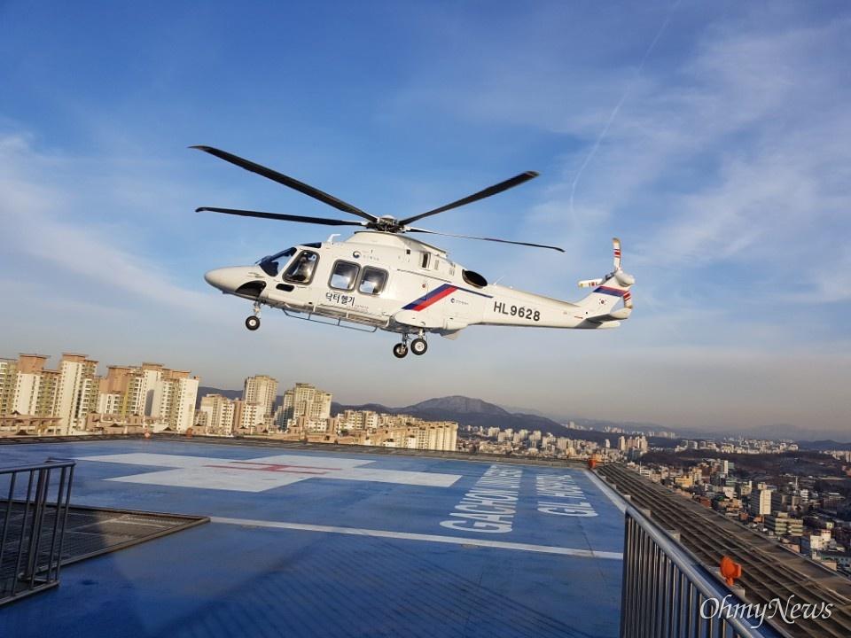 지난 2011년 9월 운항을 시작한 인천시의 닥터헬기는 올 11월 말까지 1271건 출동했다.