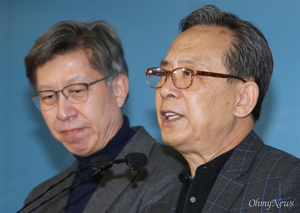 통합당 공동선대위원장 맡은 박형준-신세돈