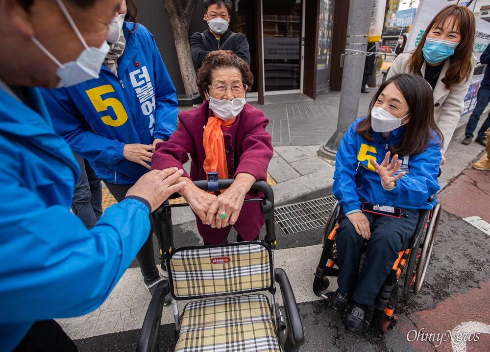 제 21대 총선 더불어시민당 최혜영 비례 후보가 7일