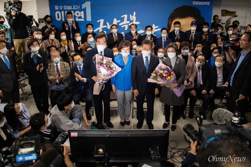 제 21대 총선 종로 국회의원에 출마한 이낙연 후보가