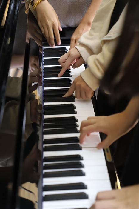 충북 옥천 안내중학교의 모습