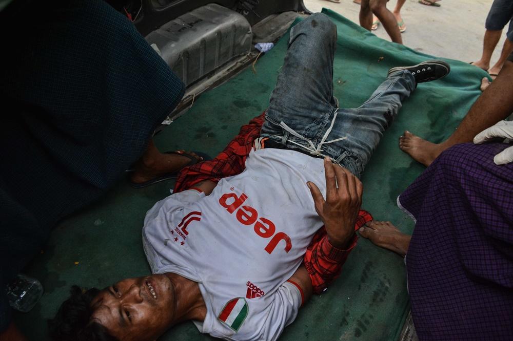 군부쿠데타에 반대하는 '시민 불복종 운동'이 연일 벌어지고 있는 미얀마의 2월 20일 모습. 현지 사진기자 모임인 'MPA(Myanmar Pressphoto Agency)'가 찍어 보내온 사진이다.