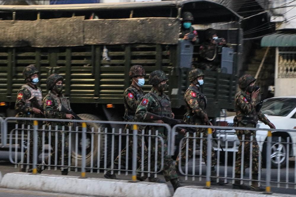 군부쿠데타에 반대하는 '시민 불복종 운동'이 연일 벌어지고 있는 미얀마의 2월 25일 모습. 현지 사진기자 모임인 'MPA(Myanmar Pressphoto Agency)'가 찍어 보내온 사진이다.