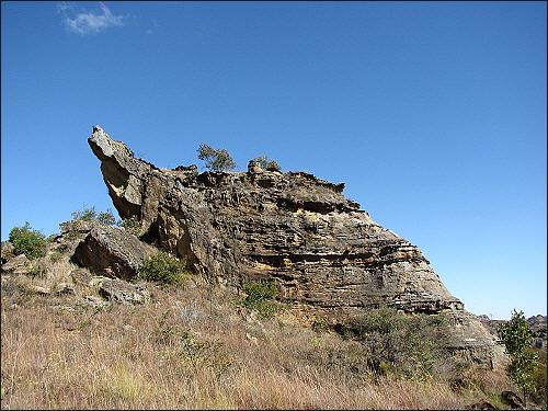 이살로 국립공원, 악어바위