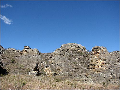 이살로 국립공원, 해골바위