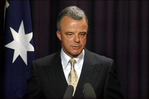브란덴 넬슨 호주 국방장관.