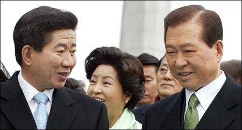김대중 전 대통령은 말을 가려서 신중히 하는 반면, 노무현 대통령은 달변에 토론을 즐긴다.