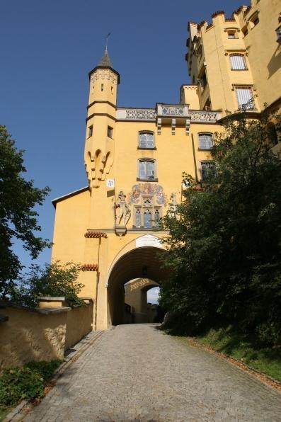 호헨 슈반가우  호헨슈반가우 성, 루드비히가 어린 시절을 보낸 곳이다.