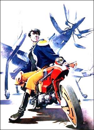 <왕립우주군-오네아미스의 날개> 일본에서 개봉된지 꼭 20년만에 한국에서 개봉하는 <왕립우주군> 포스터