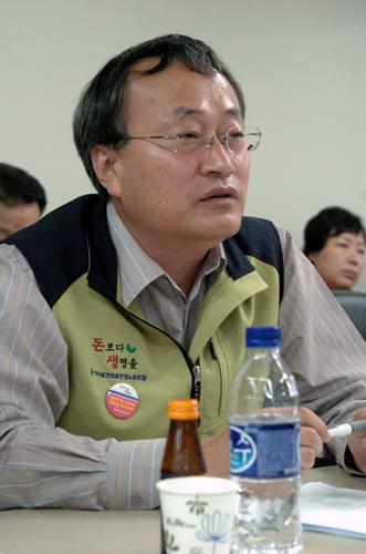 정해선 보건의료노조 수석부위원장