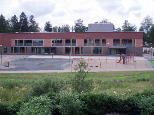 핀란드의 어느 초등학교 전경.