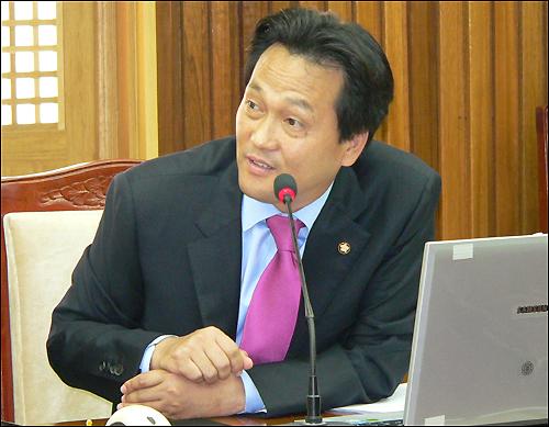 대통합민주신당 안민석(경기 오산) 의원.