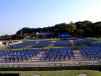1000개의 좌석 무대위에서 찍은 1000개의 관객석