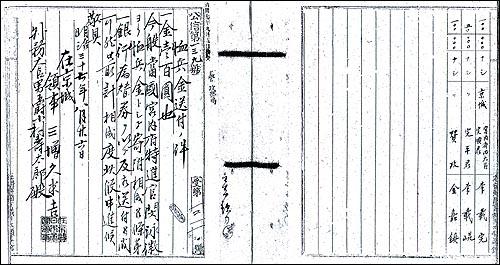 한국관리들도 군자금 헌납에 앞장서 대표적인 한국관리인 이재곤, 김가진, 민영휘 등은 일본군자금을 헌납했으며, 1910년 일본으로부터 작위를 받기도 했다.