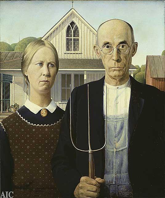 어메리칸 고딕 (1930)