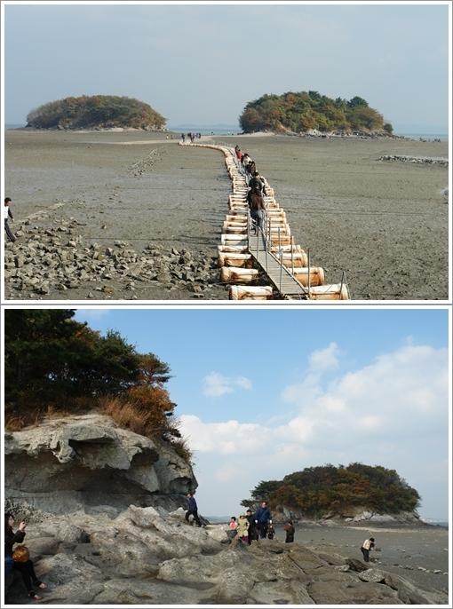 조구널 풍경 안면암에서 바라본 조구널과 바닷물이 만든 조구널의 절경